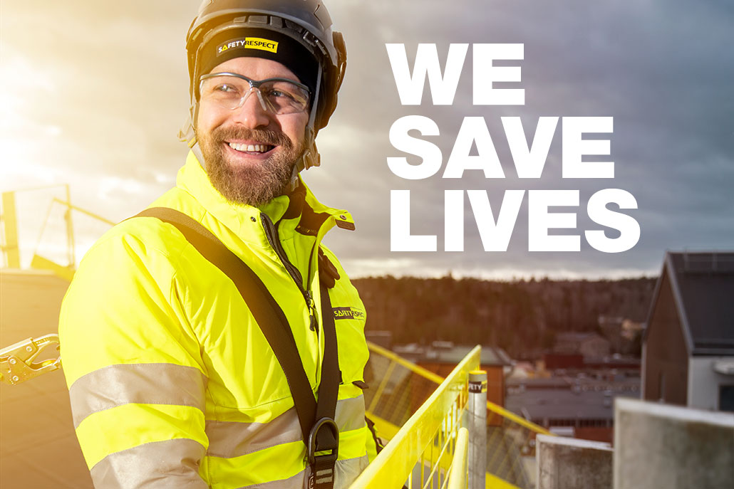 WE SAVE LIVES - SAFETYRESPECT