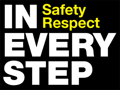 IN EVERY STEP - SAFETYRESPECT